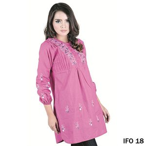 Blouse Cotton Pink – IFO 18