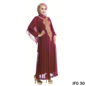 Gamis Hycon Maroon – IFO 30