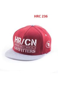 Beanies And Cap Red Comb All Size Twill  – HRC 236