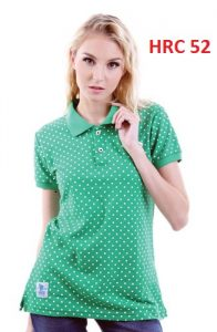 Female Polo Shirts Green S,M,L Lakost  – HRC 52