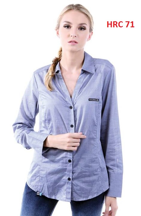 Polo Shirts For Female Grey S,M,L,XL Cotton