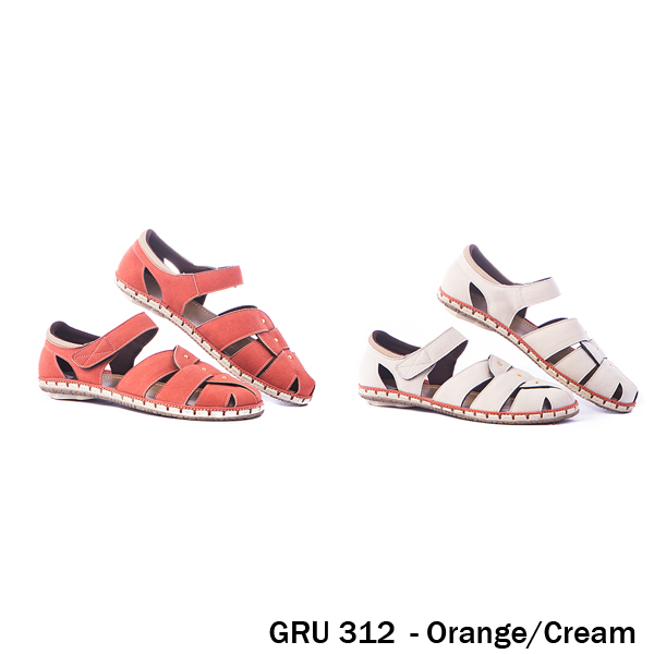 Female Flat Shoes Synthetic TPR Cream