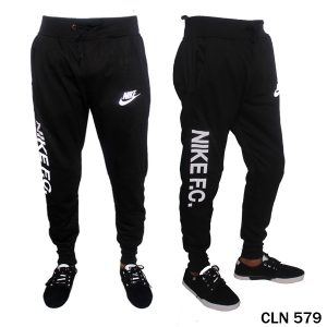 Jogger Pants Mens Baby Terry Hitam – CLN 579