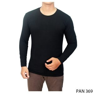 Long Sleeved Shirt Spandek Hitam – PAN 369