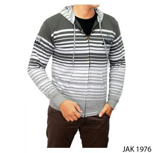 Male Jackets Multi-Color Baby Tery Abu Kombinasi – JAK 1976