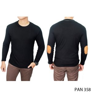 T Shirts With Long Sleeves Underneath Spandek Hitam – PAN 358