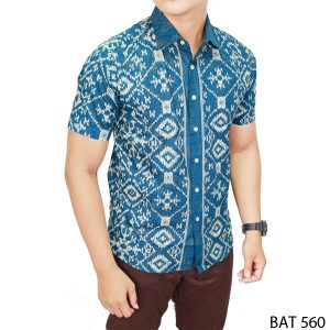 Batik Shirts For Men Katun Multi Colour – BAT 560