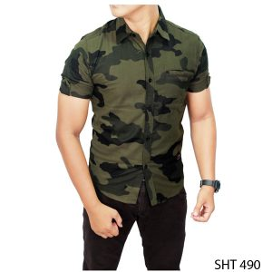 Flannel Shirt Outfit Flanel Loreng – SHT 490