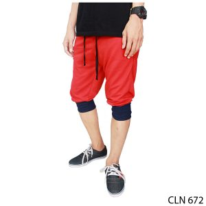 Joggers Pants Outfit Baby Terry Merah – CLN 672