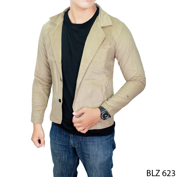 Casual Blazer Mens Codoray Krem