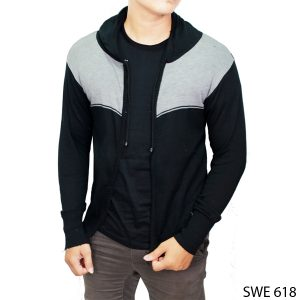 Mens Sweater Knitting Patterns Rajut Hitam – SWE 618