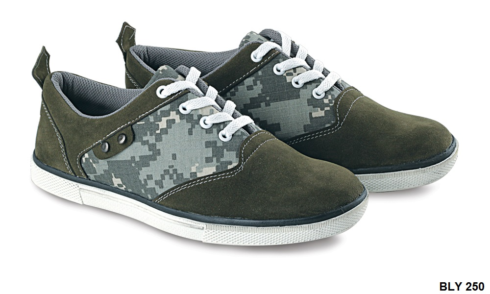 Casual Shoes For Mens Canvas-Kulit Sol Tpr Olip