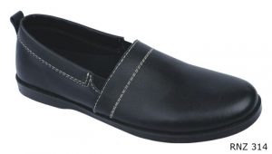 Casual Shoes For Mens Kulit Sol Tpr Hitam – RNZ 314