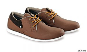 Casual Shoes For Mens Pu-Pvc Sol Tpr Coklat – BLY 252