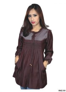 Dress Wanita Online Denim Ungu – RNZ 219