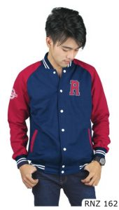 Jaket Fashion Fleece Biru Fleece Biru – RNZ 162
