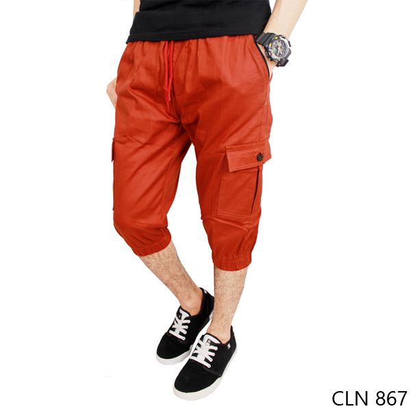 Jogger Polos Stretch Orange
