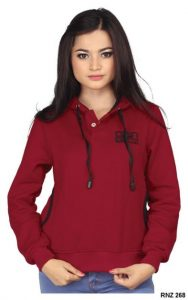 Sweater Wanita Online Fleece Marun  – RNZ 268
