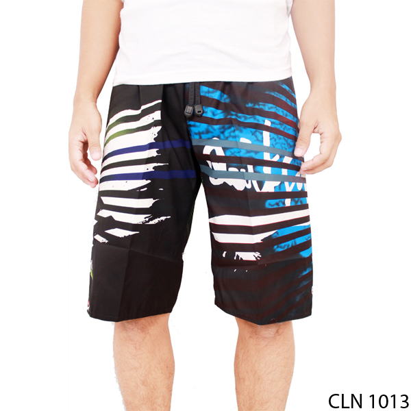 Celana Casual Surfing Polyester Hitam