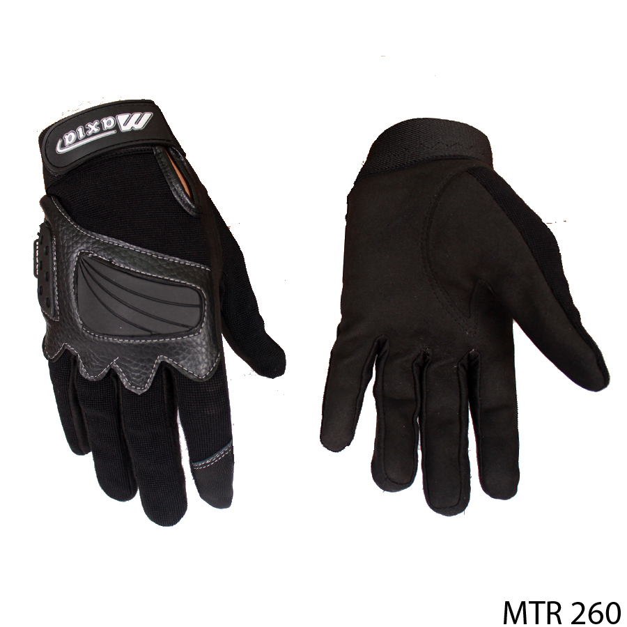 Gloves For Motorcycle Riders Kain Hitam