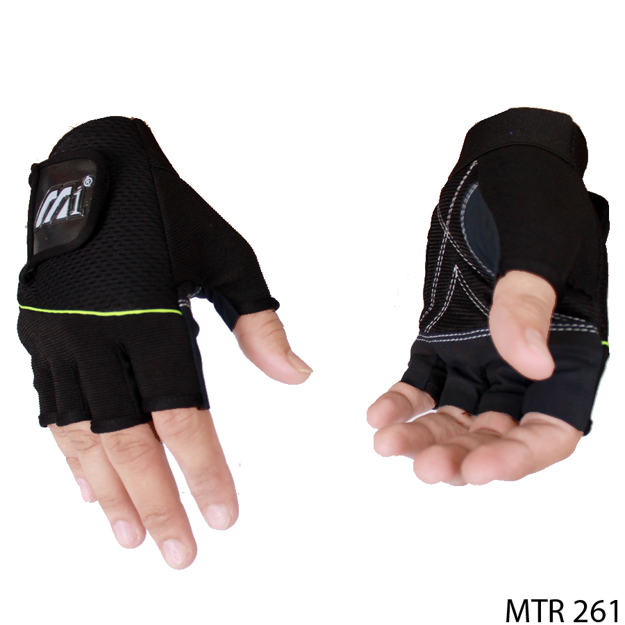 Gloves For Motorcycle Riding Kain Hitam