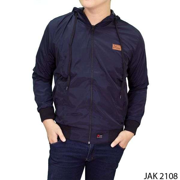 Casual Jackets For Men Parasut Dongker