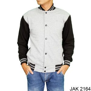 Men Baseball Jacket Fleece Abu – JAK 2164