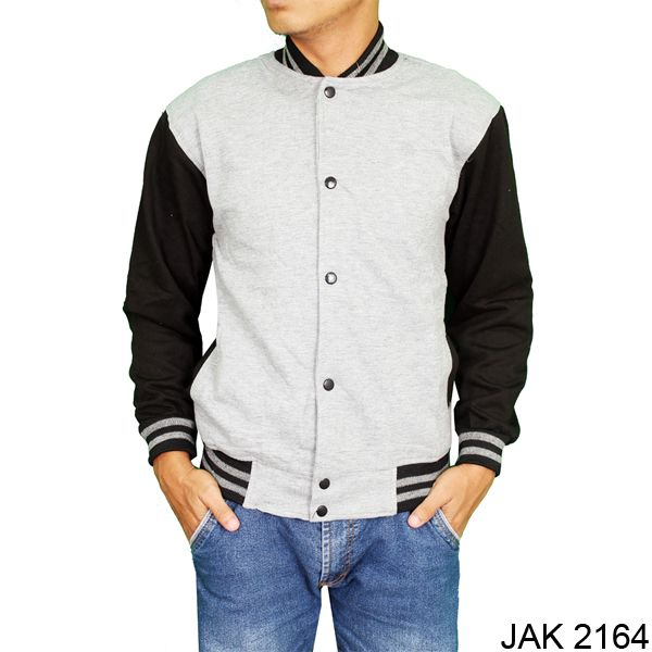Men Baseball Jacket Fleece Abu