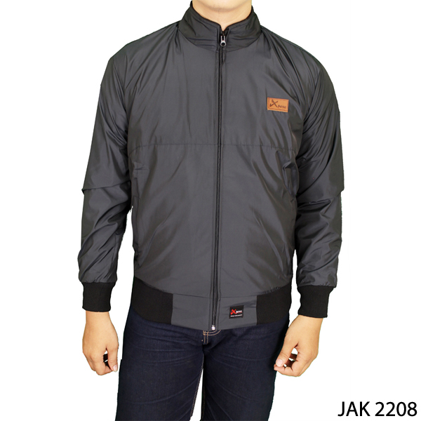 Men Summer Jacket Parasut Parasut Abu Tua