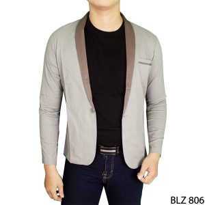 Stylish Suit Blazers Katun Abu – BLZ 806