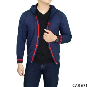Cardigan Pria Modis Fleece Dongker – CAR 631