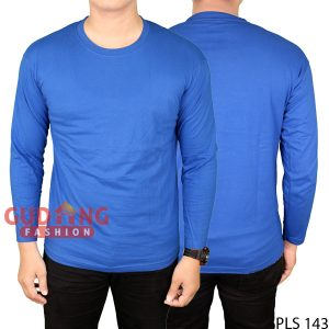 T-Shirt Pria Cotton Cardet Biru Benhur – PLS 143