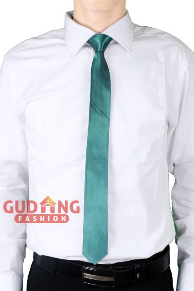 Dasi Slim Stylish Satin Super Hijau Tosca Muda