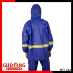 Jas Hujan Pengendara Motor Water proof dan Wind Proof Biru – MTR 411