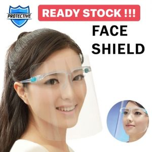 Face Shield Bening Kacamata Raffi Nagita Orbital Dental Mask FREE BOX Mika Keras Transparan – TOP 39